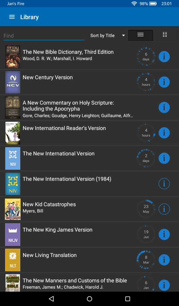 Best bible apps for amazon kindle fire logos library view logos bible reading view fandeluxe Image collections